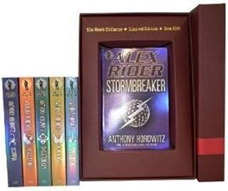 Alex Rider Series Collection Pack. Scorpia, Eagle Strike, Ark Angle, Skeleton Key, Point Blanc & Stormbreaker