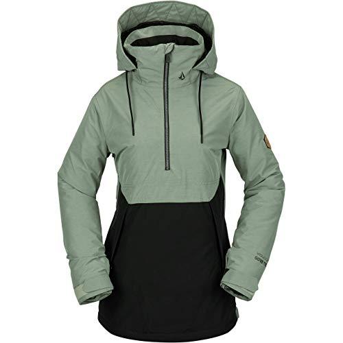 Volcom Damen Ski- Snowboardjacke Fern Ins Gore Pullover, Größe:M, Farben:Dusty Green