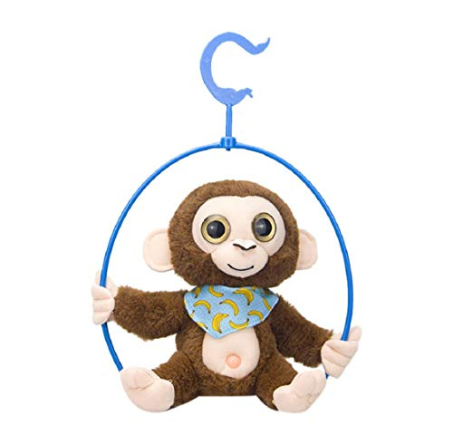 Koojawind Reden Singen Cute PlüSch AFFE GefüLlte Animierte Interaktive Elektronische Puppe Wiederholt, was Sie Sagen, Elektronisches PlüSch Spielzeug, Jungen Und MäDchen Geschenk