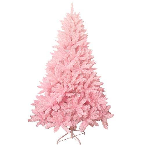 AISHANG Árbol de Navidad Artificial sin iluminación, 180 cm 6 pies, 800...