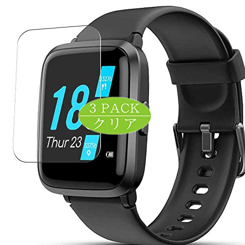 """VacFun 3 Piezas Claro Protector de Pantalla, compatible con YONMIG FITFORT LIFEBEE Lintelek BYTTRON YAMAY ID205U 1.3\"""" smartwatch Smart Watch, Screen Protector(Not Cristal Templado)"""