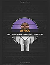 Coloring Book & Poster Collection: Africa Digital Illustration Of African People Its Inspired By Cartoons