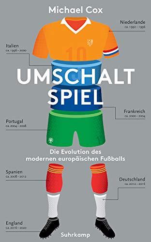 Umschaltspiel: Die Evolution des modernen europäischen Fußballs (suhrkamp taschenbuch)