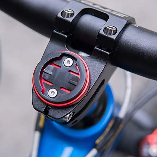 CYSKY Garmin Edge Mount, Fahrradvorbau-Halterung für Garmin Bryton Radfahren GPS Computer, passend für Garmin 1000,820,810,800, 520,510,500,200 und Bryton 530 330 310 100 (Schwarz) - 2
