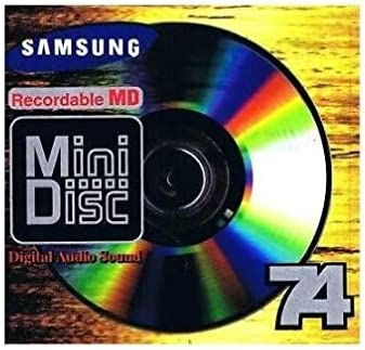 new arrival Samsung Recordable 74 discount 2021 Minute MiniDisc for Digital Audio Sound outlet sale