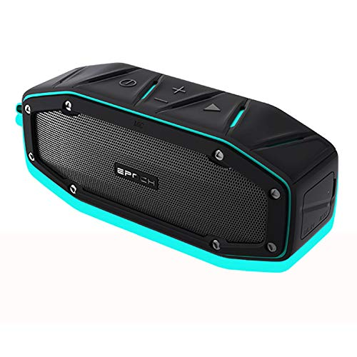LSJZZ IPX6 Waterproof Bluetooth-Lautsprecher, Reiten im Freien drahtlos drahtloser dreifester Kleiner Lautsprecher, Hallen- und Außen-Langzeit-Standby-Modus