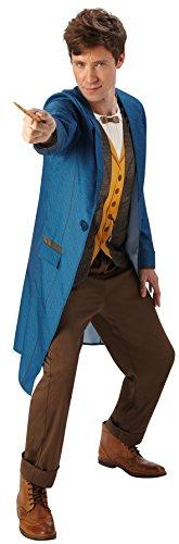 Rubies 's oficial fantástico bestias Warner Bros Newt Scamander Deluxe Adult Costume