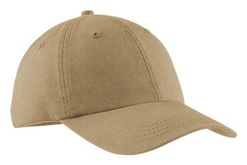 Port & Company® - Pigment-Dyed Cap. CP84 Khaki OSFA