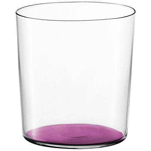 LSA International Gio Color Tumbler, Verre Tumbler, Violet, 390ml