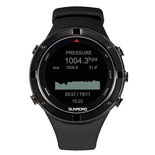 Lixada Orologio Sportivo con GPS Frequenza Cardiaca Altimetro Barometro USB Ricaricabile, Braccialetto Fitness Unisex per Il Triathlon Palestra Ciclismo Arrampicata in Viaggio