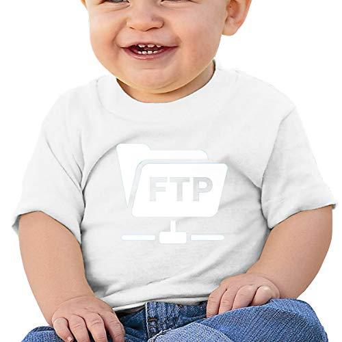 QingH Blog - FTP Hesabı Baby Short Sleeve T-Shirt White 2T