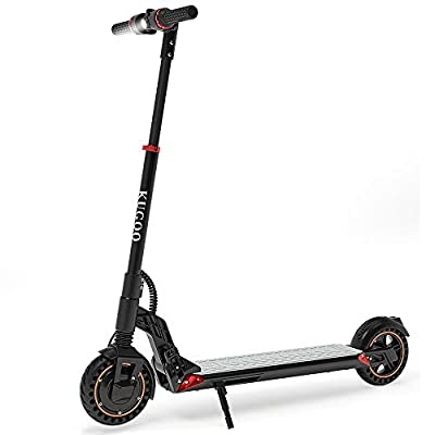 Electric Scooters, Kugoo S1 Plus Folding Electric Scooter for Adults 8 inch Honeycomb Tyre 350w Motors Max Speed 30km/h UltraLight Foldable E Scooter with LCD display 7.5Ah Li-Ion battery
