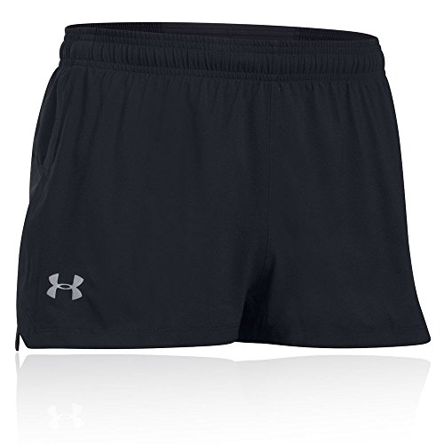 Under Armour Herren UA Launch SW Split Short Kurze Hose, Black, XL