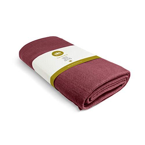 Lotuscrafts Coperta Yoga Savasana in Cotone [200 x 150 cm] - Resistente e Durevole - Coperta per Yoga - Coperta Cotone da Meditazione - Telo Yoga - Coperte Yoga - Yoga Blanket