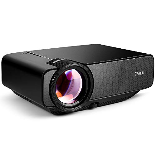 RAGU Z400 Mini Projector, Multimedia...
