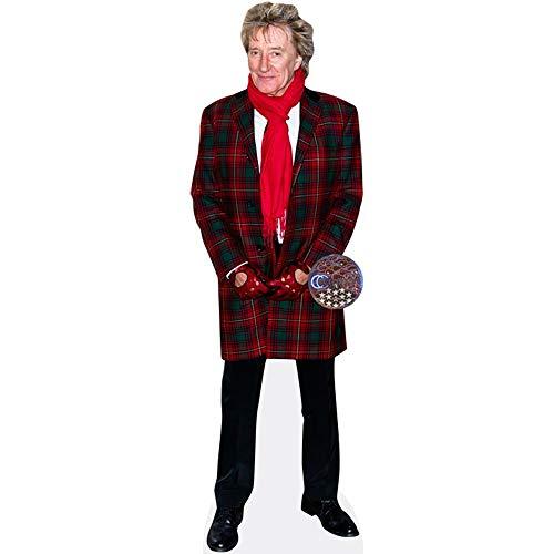 Celebrity Cutouts Rod Stewart (Red Coat) Pappaufsteller lebensgross