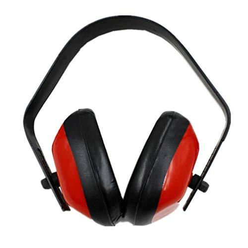 Noise Reduction Ohrenschützer zum Schießen Jagd Schlafen Gehörschutz Ohrenschützer Rot & Schwarz