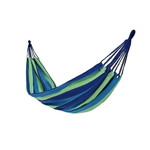 Balancelle de Jardin Loisirs en plein air hamac suspendu Chaise en toile Dortoir Camping Balançoire épais en nylon corde peut supporter 120 kg Balançoire