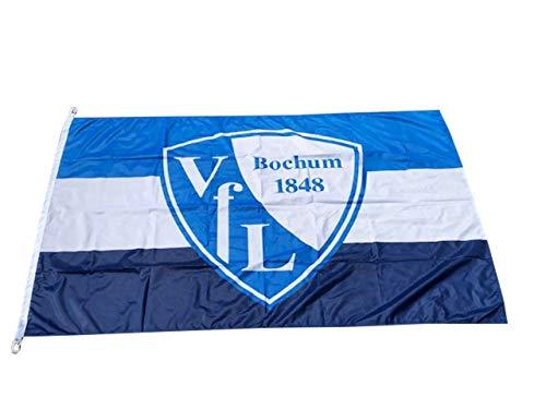 VFL Bochum Logo Hissfahne 150x100 cm Original Lizenzprodukt