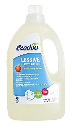Ecodoo - Lessive liquide ECOBIOLOGIQUE senteur Pêche