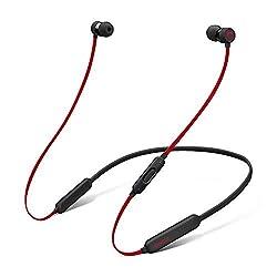 BeatsX ワイヤレスイヤホン-Apple W1ヘッドフォンチップ、Class 1 Bluetooth、マグネット式イヤーバッド、最長8時間の再生時間- レジスタンス・ブラックレッドの商品画像