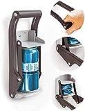 Trituradora de latas Daletu, trituradoras de latas montadas en la pared de 12 oz para reciclar, trituradora de latas de cerveza, abridor de botellas de soda, herramienta de reciclaje ecológica