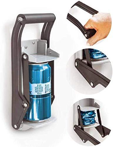 Dosenbrecher, Daletu Dosenbrecher an der Wand, Hochleistungs-Dosenbrecher für das Recycling von Aluminiumdosen, Kunststoffflaschen, Soda, Bierdosen und Flaschen