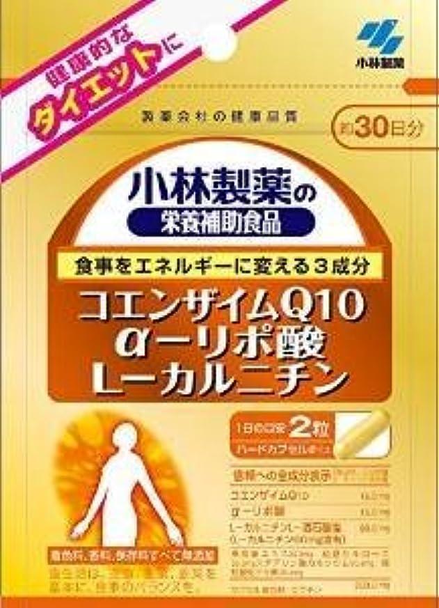 置くためにパックティーンエイジャーガム小林製薬 小林製薬の栄養補助食品コエンザイムQ10α-リポ酸L-カルニチン60粒×5袋