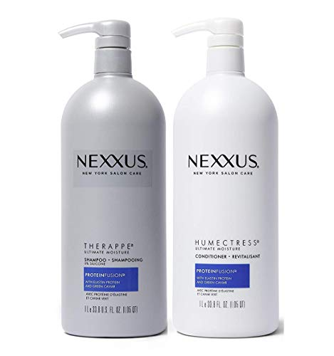 Nexxus Deep Hair Hydration Therappe Caviar Complex 33.8 floz and Humectress Caviar Complex Conditioner 33.8 floz