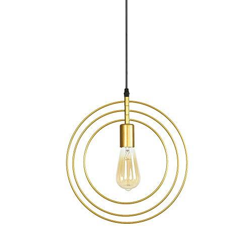 MinMin hanglamp van metaal met kroonluchter van metaal