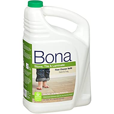 Bona® Stone, Tile & Laminate Floor Cleaner Refill 128oz ( Pack May Vary )