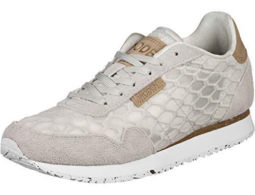 Woden Damen Sneaker WL869 049 grau 698101, Grau, 39 EU