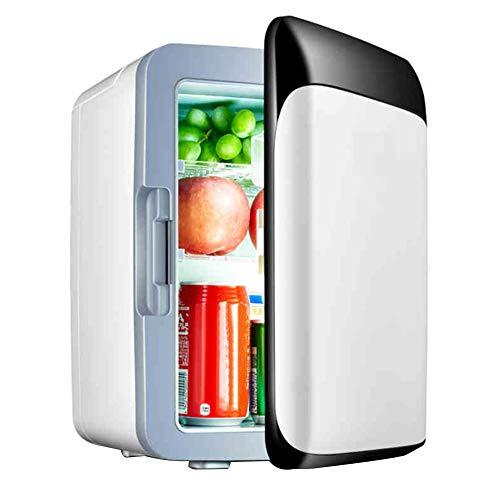 XINLEE Autokühlschrank, DC 12V / AC 220V, tragbarer Ultra-leiser Mini-Reisekühlschrank, 10L Camping-Gefrierschrank