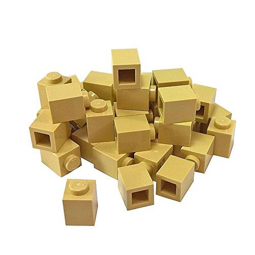 LEGO Bricks 3005Harry Potter–Ziegel (1x 1Pivot, 50Stück, Beige
