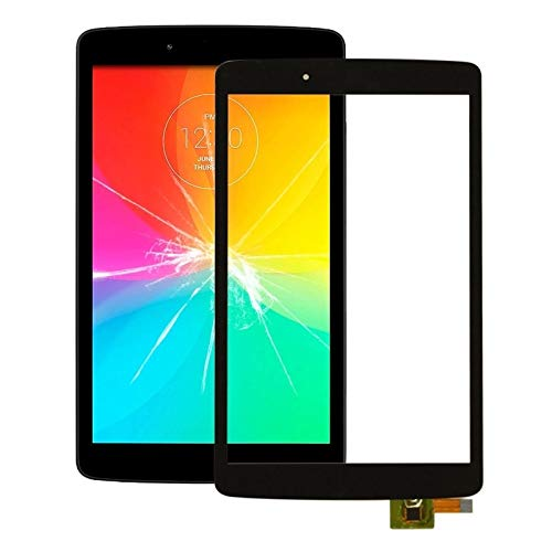 Zhouzl Repuestos LG Panel táctil for LG G Pad F 8.0 V480 V490 Repuestos LG (Color : Black)