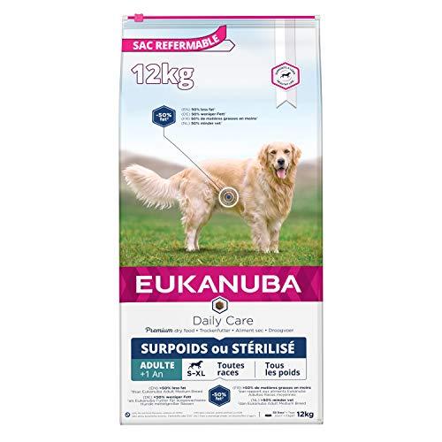 Eukanuba Daily Care Croquette pour Chien Stérilisé 12,5 kg