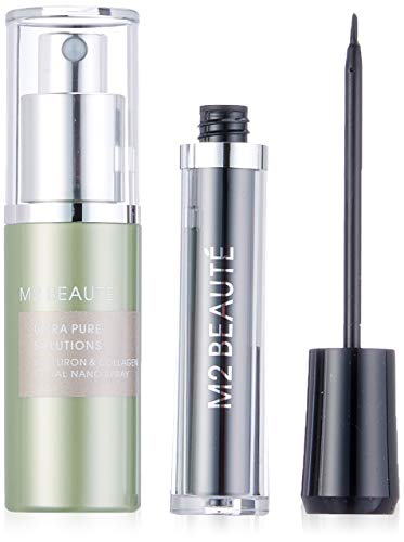 M2 Beauté Visionary Beauty Set (Eyelash Serum, Hyaluron & Collageen Facial Nano Spray)