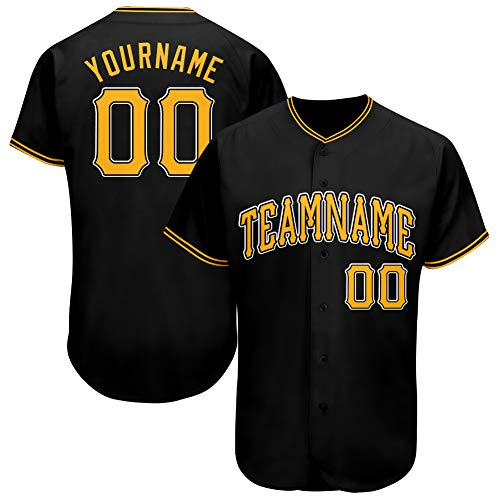 FIITGCUSTOM Custom Baseball Jersey Personalized Stitched Baseball Jersey with Team/Your Name and Numbers for Men/Women/Youth