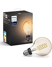 Philips HueW Filament Ampul G93 E27 Sarı Işık Bluetooth Özellikli