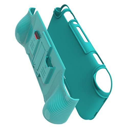 Lurrose Capa para Console Nintendo Switch Lite Com Tampas de Joystick E Slots de Cartão de Jogo Tpu Capa Portátil para Switch Lite