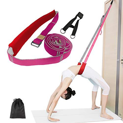 JOYHILL Yoga Fitness Stretching Strap, Back Bend Assist Trainer, Stretching Band Verbessern Sie die Flexibilität der Bein-Taille, für Reha Pilates Ballett Tanz Cheerleading Splits Gymnastik