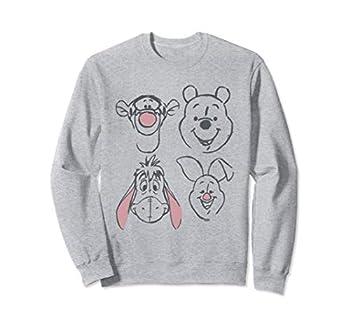 Disney Winnie The Pooh and Friends Sketch Sweatshirt