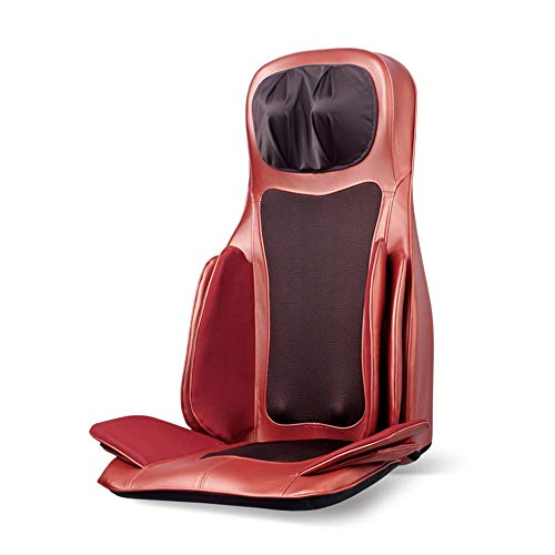 Best Buy! Lzour Massage Chair Pad Back Massager Massage Seat Cushion with Heat Air Pressure Kneading...