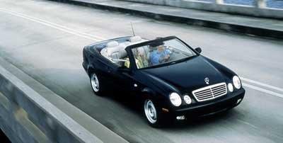 1999 Mercedes Benz CLK320 2 Door Cabriolet 32L