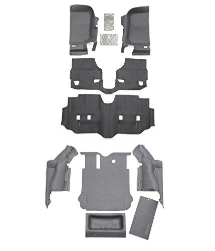 BedRug Jeep Combo Kit - BedTred CBTJK114 fits 2011+ JK Unlimited 4 Dr (Includes Front and Cargo Kit)