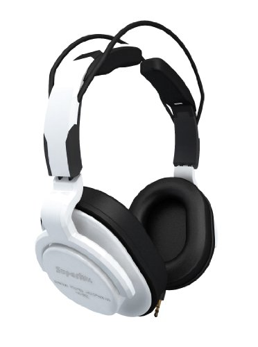 Superlux HD661 Closed-Back Professional Headphone with Detachable Straight Cables White OPEN BOX
