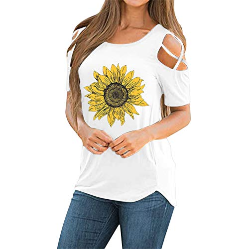 MRULIC Frauen Kurzarm Dreifach Farbe Block Streifen T-Shirt Casual Bluse Damen Shirt Weisse Bluse(S-Schwarz,EU-40/CN-L)