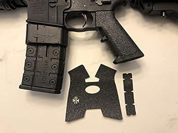 Handleitgrips AR 15 / AR 10/ Scar Classic Gun Grip Enhancement Wrap Gun Parts Kit Black