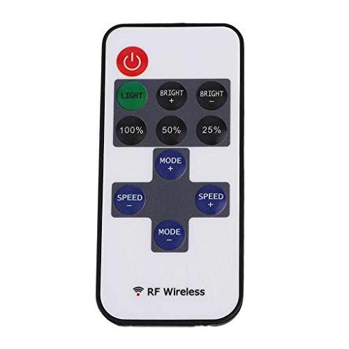 Guangcailun Interruptor Remoto 12V RF Wireless Controller Controller LED Dimmer para LED luz de Tira
