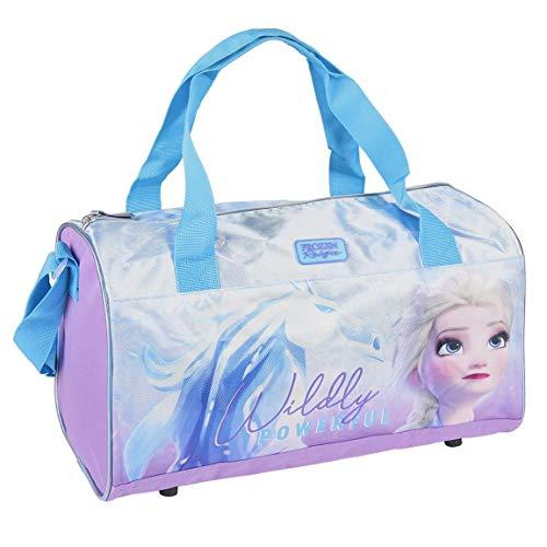 Cerdá Unisex-Kinder Bolsa Grande Deporte Frozen 2 Gefrorene 2 große Sporttasche, Mehrfarbig, 40.0 x 23.0 x 19.0 cm